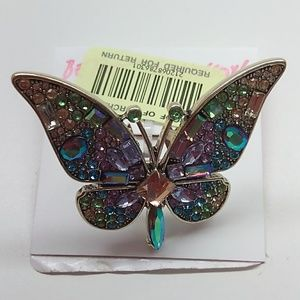 Betsey Johnson New Butterfly Ring